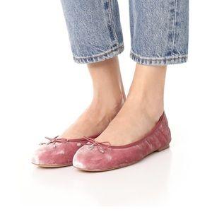 Sam Edelman Velvet Pink Felicia Ballet Flats 9